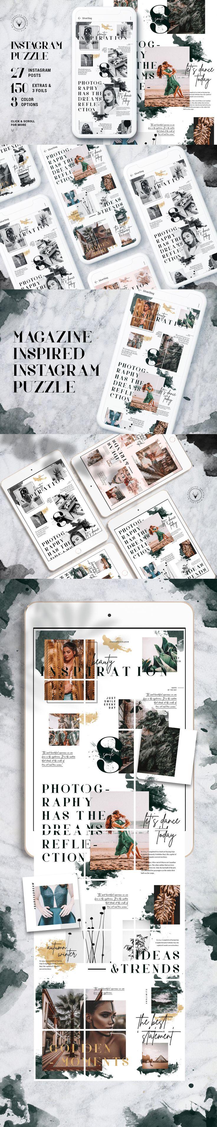 InstaGrid 8 – Insta Magazine Puzzle