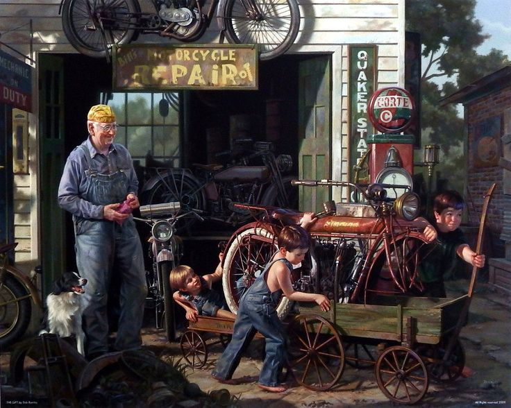 D E C F F C D F Motorcycle Mechanic Motorcycle Art on indian motorcycle art prints