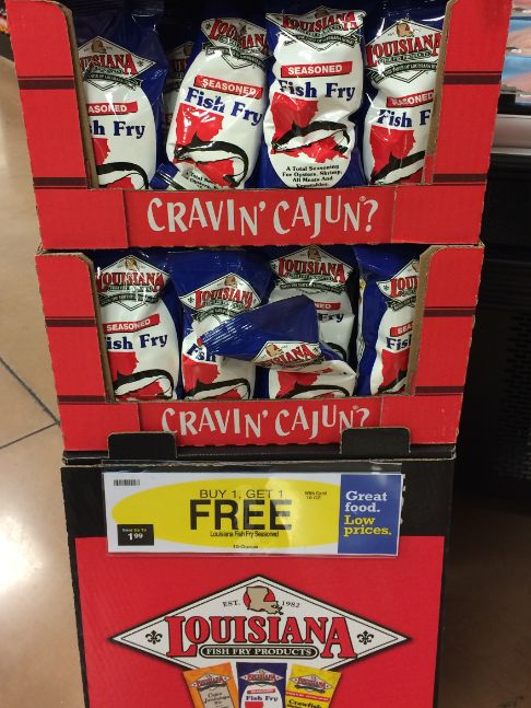 Great Deal on Louisiana Fish Fry Breading Products at Kroger!