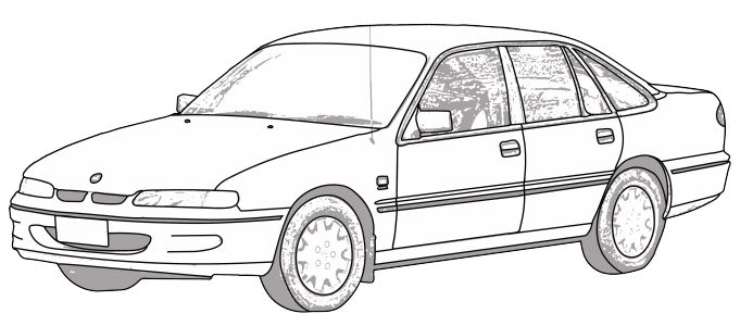 Commodore Colouring Pages Rapunga Google Cars To Draw