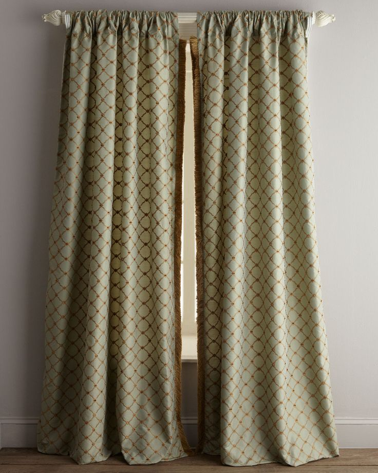 Each 108 L Petit Trianon Trellis Curtain Couture And Window