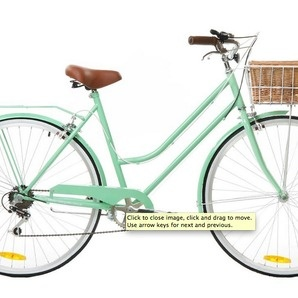Mint Green Vintage Ladies Bike 6 Speed - Special Edition by Reid Cycles, but in sunshine yellow. Ohhhhh yes x