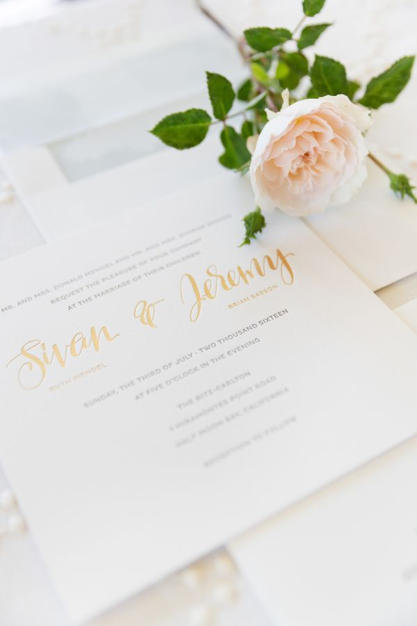 Top Trends in Wedding Stationery