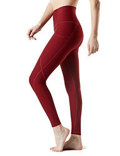 fd8473a8f5 Tesla TM-FYP54-WNE_Medium Yoga Pants High-Waist Leggings w Side Pockets  FYP54 #yoga #fittness #workout