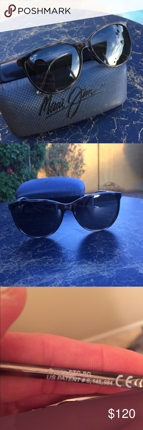 Maui Jim ocean sunglasses New Maui Jim MJ 723 ocean women's sunglasses. Polarized lenses with gray tortoise frames. Perfect condition. Maui Jim case included Maui Jim Accessories Sunglasses