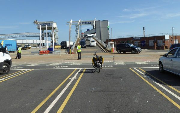 Information on taking a bike on the Dover-Calais ferry. - Freewheeling France