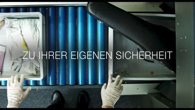 Kortfilmsklubben - tyska: Zu Ihrer eigenen Sicherheit