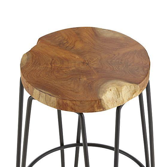 Origin Bar Stools | Crate and Barrel  sc 1 st  Pinterest & 44 best Kitchen stools images on Pinterest | Kitchen stools ... islam-shia.org