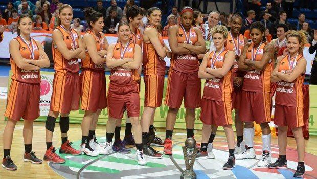 G.Saray Odeabank Bayan Basketbol Takımı (Avrupa Kadınlar Euroleague şampiyonu)