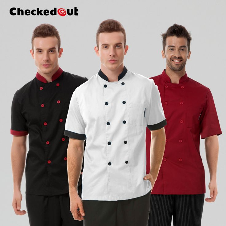 Online kopen Wholesale black restaurant uniforms uit China black ...