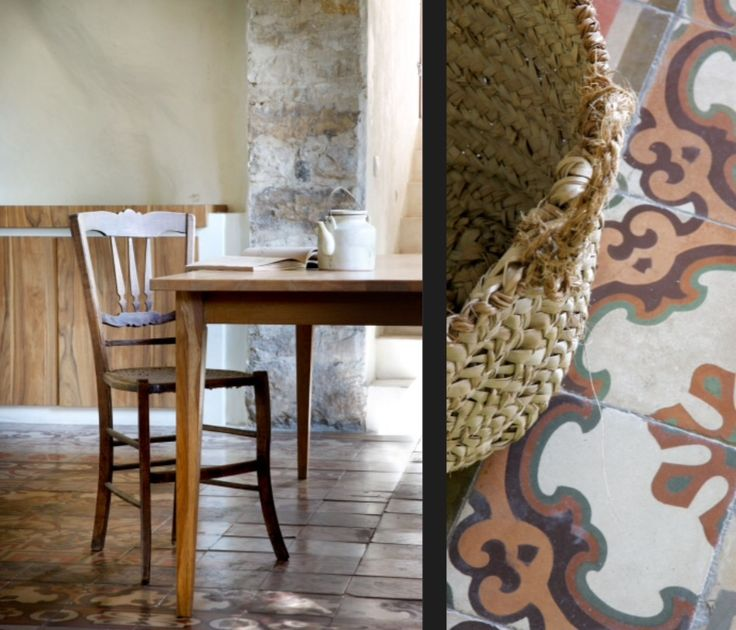 """These fantastic floor tiles are from our feature """"Rustic Renovation"""""""