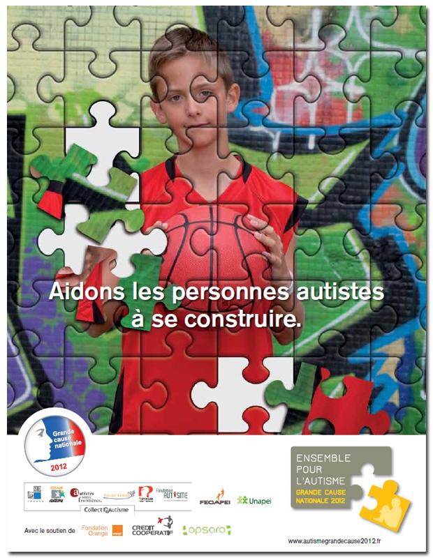 Autisme, grande cause nationale 2012