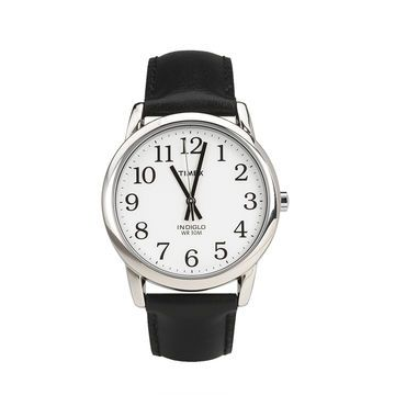Timex Classics Men's Watch - White/Black - 20501  Indiglo