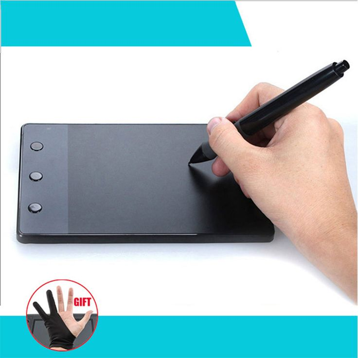 """HUION H420 4 x 2.23"""" USB Art Design Drawing Tablet for Drawing Graphic Tablet OSU USB Digital Pen For PC Computer"""