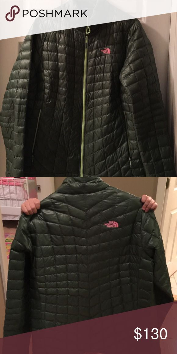 North face Balsam Green Thermoball Jacket Thermoball Northface Jacket mint condition. Only worn about 3 times. The North Face Jackets & Coats