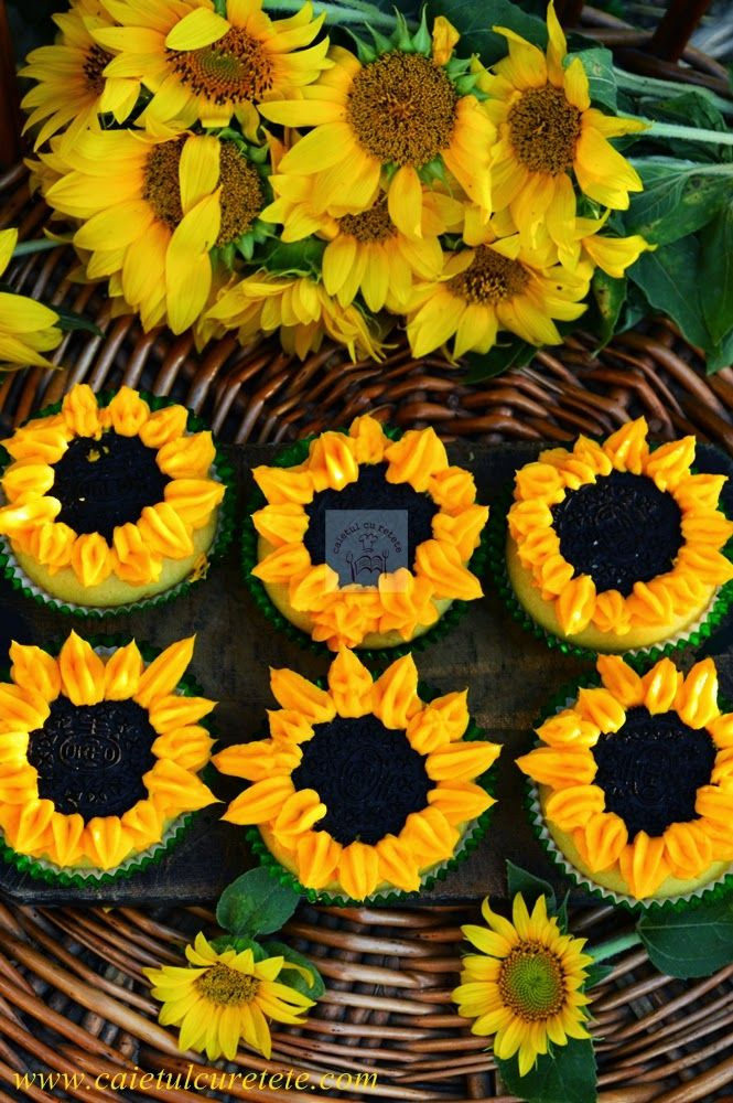 Briose floarea-soarelui - CAIETUL CU RETETE