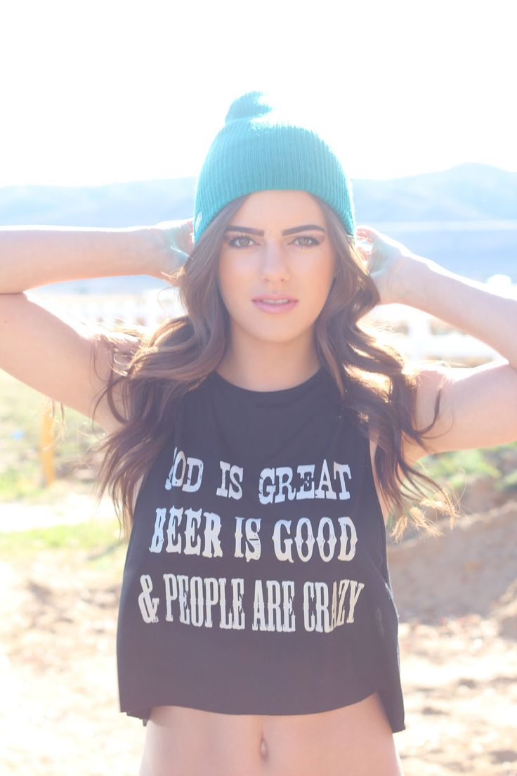 Beer is Good Tank www.licensetoboot.com Stagecoach Outfit Country Thunder Outfit