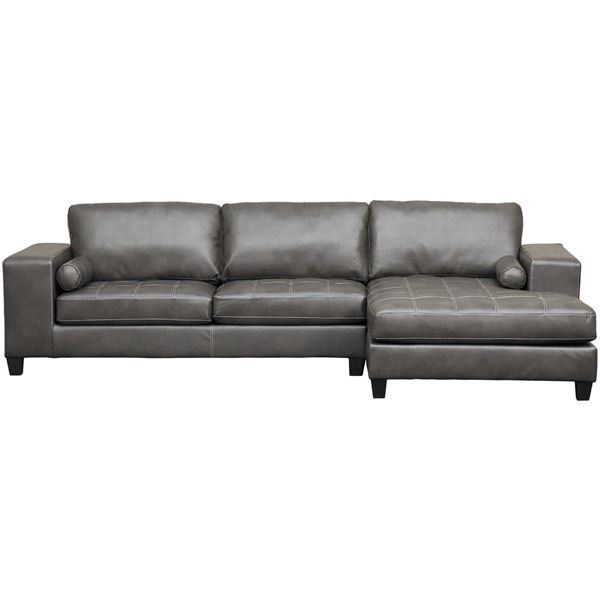 Nokomis 2PC Sectional w/ RAF Chaise by Ashley Furniture is now available at American Furniture Warehouse. Shop our great selection and save!