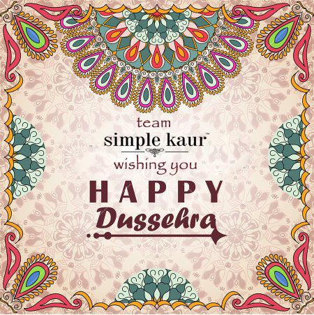 A very happy #dussehra to all my lovelies.