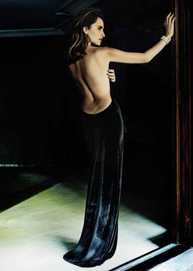 Penelope Cruz for Vogue Spain December 2016 by Mario Testino