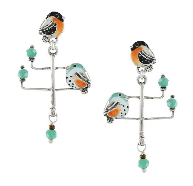 """Boucles d'oreilles sur le fil : Taratata Bijoux // """"Cliquez sur le visuel pour accéder à la boutique"""""""