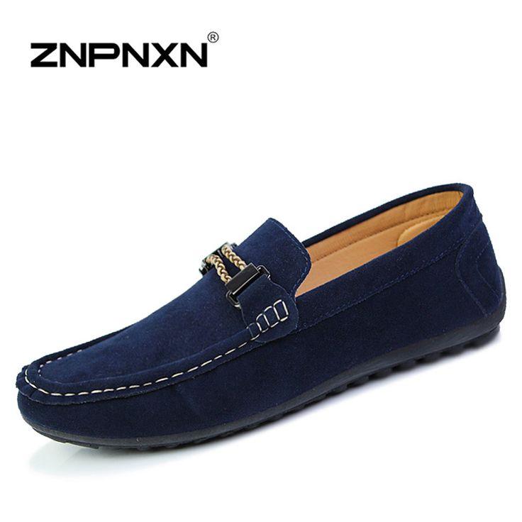 Cheap Zapatos de Los Hombres ocasionales Hombres de Los Holgazanes de Cuero de La Pu Slip On Zapatos Planos de Los Hombres Perezosos Zapatos de Conducción Mocasines Zapatos Hombre, Compro Calidad Pisos de los hombres directamente de los surtidores de China:                  estimados clientes,  tenemos cooperación con chnprice.com  usted va aobtener 10% de r