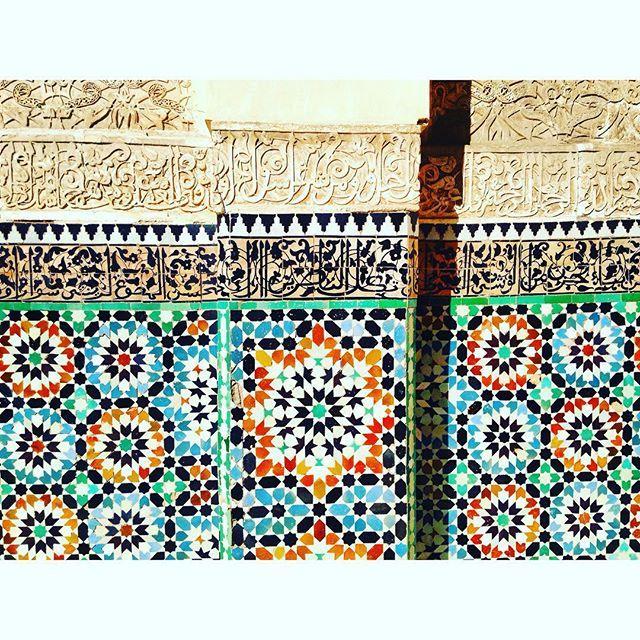 #marrakech #morroco #magreb #colours #architecture #mindblowing #iloveit #happy