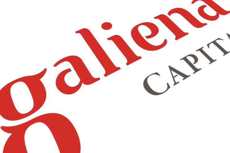Galiena Capital - Logo / Typography design - Julien Noguera on Behance
