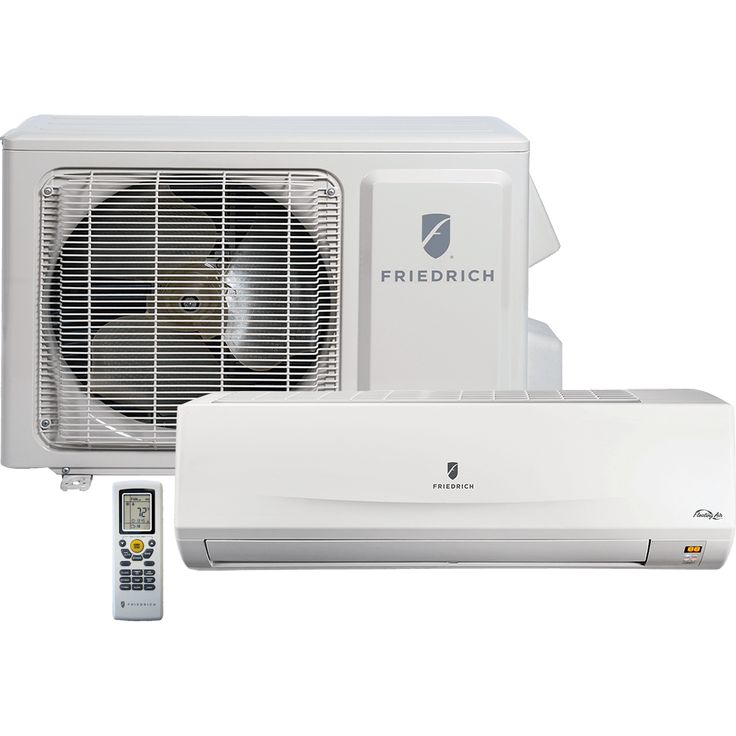 Ductless minisplits vs central air conditioners with