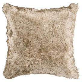 Cozy, fuzzy and warm! Who doesn't want to snuggle up with this pillow next to the fire!