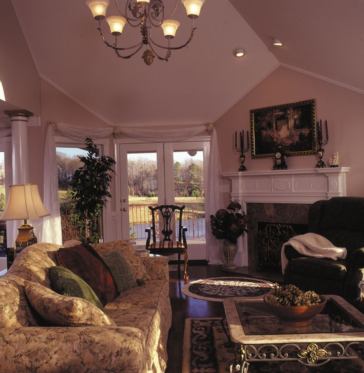 Victorian House Plan Living Room