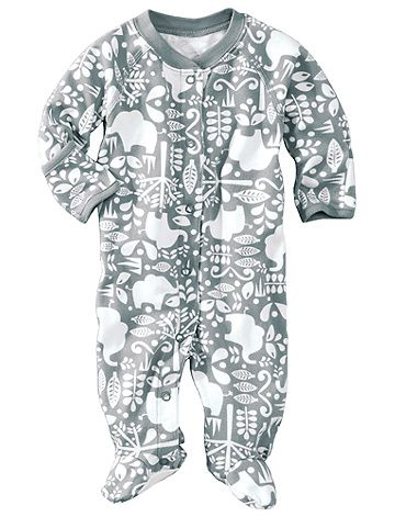 Cutest onsie ever @Hanna Andersson :) Love grey baby clothes (especially ones with elephants)!!   #bestmomevercontest