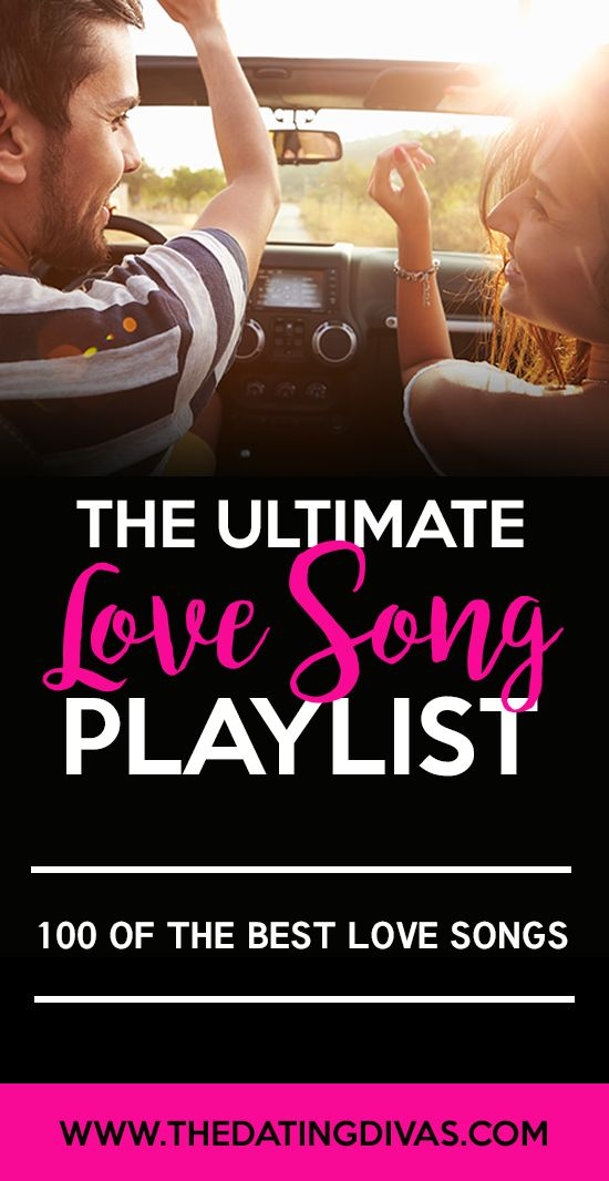 The Ultimate Playlist of the BEST Love Songs perfect for planning a romantic evening or date night!