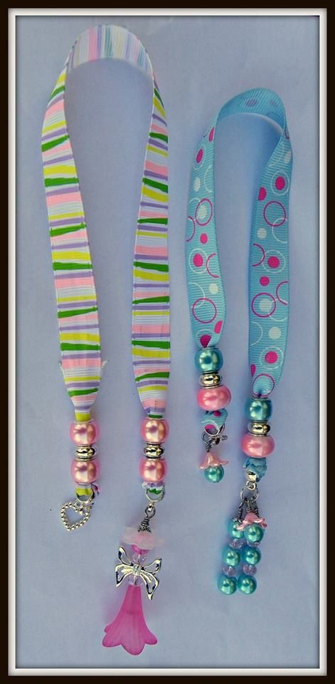 Gasp! These are super pretty bookmarks made & donated by Corinne at https://www.facebook.com/CorinnesCreations?fref=ts