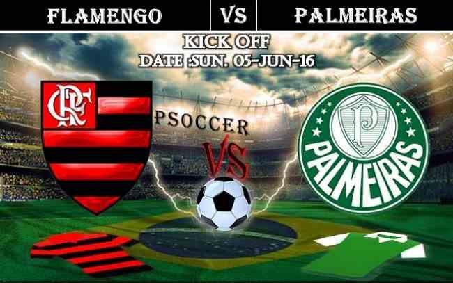 Flamengo vs Palmeiras 05.06.2016 Free Soccer Predictions, head to head, preview, predictions score, predictions under/over Brazil: SERIE A