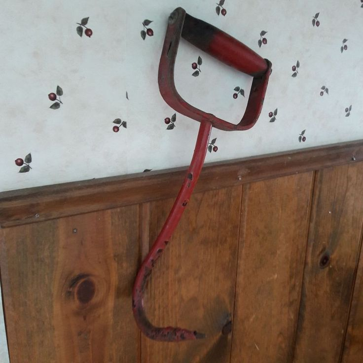 Old Primitive Hay Ice Meat Hook From Old-Time Farm Auction In Minnesota #2