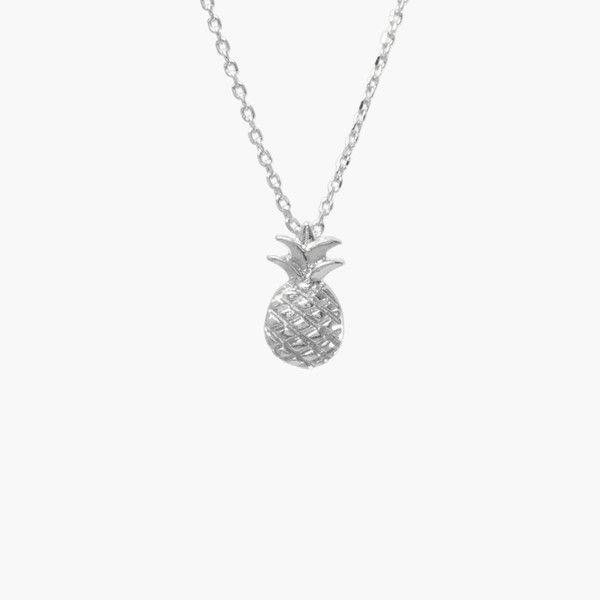 Ananas Silver Necklace