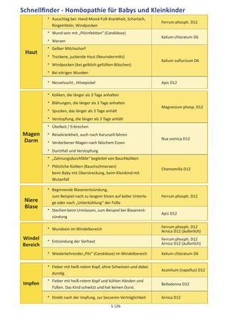 """Gerade in der Zeit von 1 – 3 Jahre sind Kleinkinder besonders oft """"krank"""" und haben mit häufigen Infekten wie Bronchitis, Nasennebenhöhlen-Entzündung, Mittelohrentzündung aber auch mit klassischen Kinderkrankheiten wie 3 Tage Fieber und der Hand/Mund/Fuß-Krankheit zu kämpfen. In meiner neuen und ergänzenden Broschüre, speziell zu Homöopathie und der Biochemie nach Dr.Schüssler, erfahren Sie, welche Globuli sie anwenden können und wie diese Ihr Kind unterstützen schnell wieder gesund zu…"""