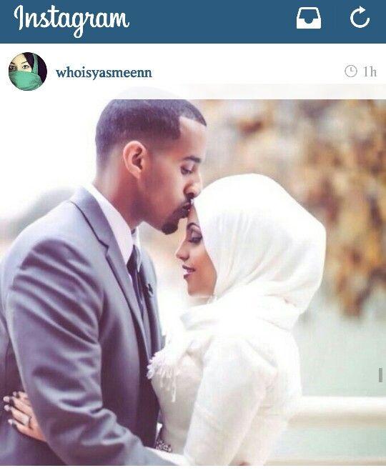 Love this Muslim wedding. Muslim bride in hijab. Via Instagram