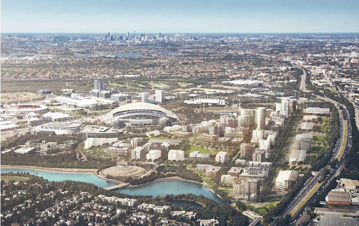 Continued growth at Sydney Olympic Park