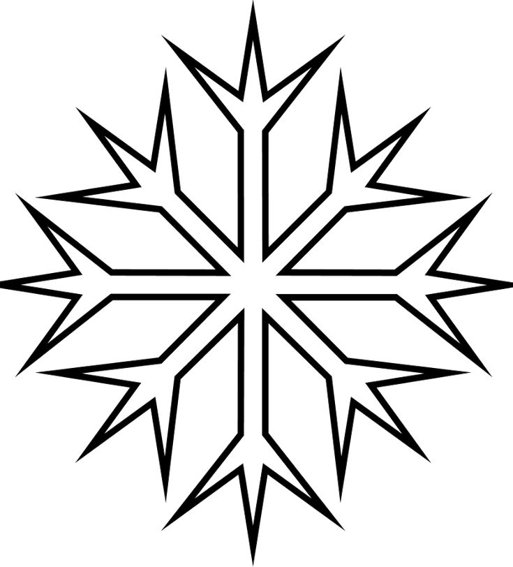 cold snowflakes winter coloring pages snowflake coloring pages - Snowflake Coloring Pages Kids