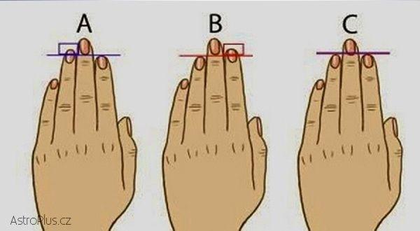 Prsty vás prozradí | AstroPlus.cz
