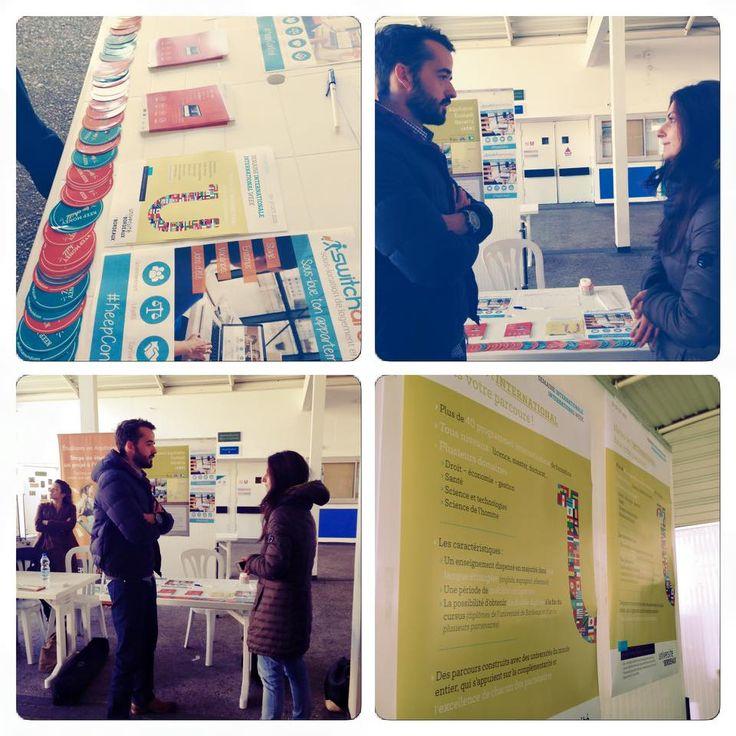 Switcharound à l'université Bordeaux II à la rencontre des élèves en medecine ! #étudiants #switcharound #sous-location