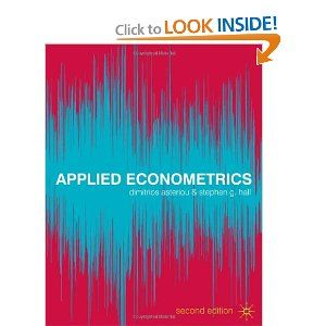 Applied Econometrics by Dimitrios Asteriou. Save 18 Off!. $59.17. Edition - Second Edition. Author: Dimitrios Asteriou. Publisher: Palgrave Macmillan; Second Edition edition (May 15, 2011)