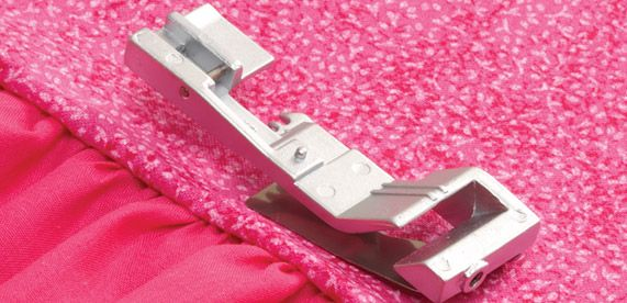 Learn about serger feet! | Sew News