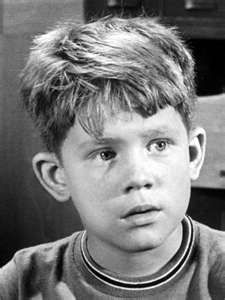 "Ron Howard as Opie Taylor on ""The Andy Griffith Show.""  OMG, he was adorable!"