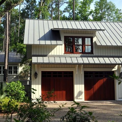 66 best images about garage doors on pinterest wooden for Shed roof garage
