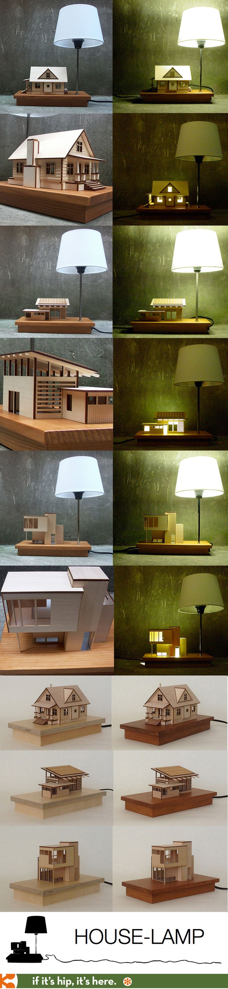 Awesome architecturally inspired lamps.