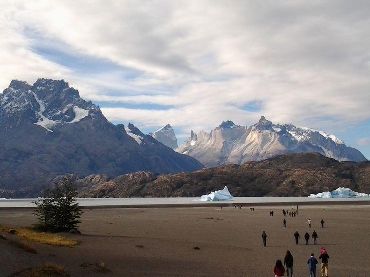 Playa Grey, Parque Nacional Torres del Paine