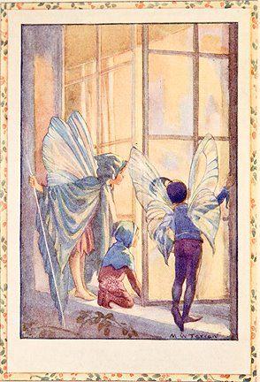 The Twilight Fairies - Flower Fairies book by Marion St John Webb, 1923